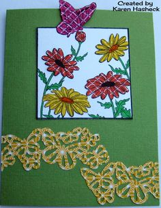 Karen's Kreative Kards: What If? Wed. Sketch Challenge at Repeat Impressions