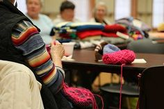 The Parkview Noble Needle Workers donate their hand-knit and crocheted items to those in need.| via @ParkviewHealth
