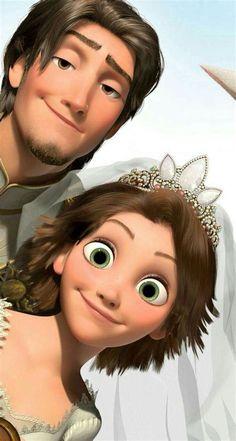 Disney Rapunzel, Rapunzel And Flynn, Tangled Rapunzel, Tangled Movie, Tangled 2010, Disney Love, Disney Magic, Disney Art, Punk Disney