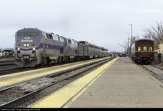 RailPictures.Net Photo: 184 Amtrak GE P42DC at Winslow, Arizona by Kit Fassett