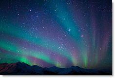 Aurora Borealis Northern Lights Alaska | Dazzling Aurora Borealis Over Northern United States, Europe, & Canada ...
