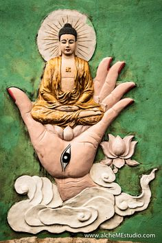 """'The Buddha's path is simple and meant for ordinary people; anyone with goodwill and determination can follow its steps toward freedom of heart and mind. Both heart and mind have to be involved in this journey toward liberation liberation of the """"self."""" The mind understands and concludes, connects and dreams, whereas the heart feels.❤️☀️"""