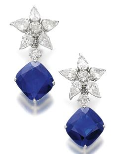 Another great jewel up for Auction at Sotheby's Nov 2013 - THE RICHELIEU SAPPHIRES.