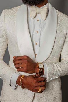 ivory wedding tuxedos suits men Ivory Wedding Suit for Black Men Suit Blazer Tuxedo two Pieces White Tuxedo Wedding, Ivory Tuxedo, Ivory Wedding, Groom Tuxedo Wedding, Vintage Tuxedo, Prom Tuxedo, Tuxedo For Men, Tuxedo Suit, White Suits For Men