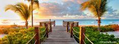 Caribbean beach Facebook Cover