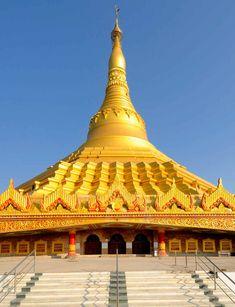 Global Pagoda near Mumbai, India