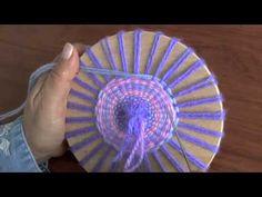 Boina en telar de mesa circular (Técnica básica)