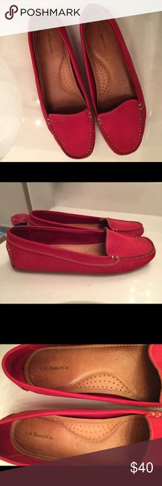 Red Gh bass moccasin Red Gh bass moccasins very comfortable wear it few times . Shoes Moccasins