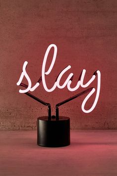 Shop Slay Neon Table Lamp at Urban Outfitters today. We carry all the latest styles, colors and brands for you to choose from right here.