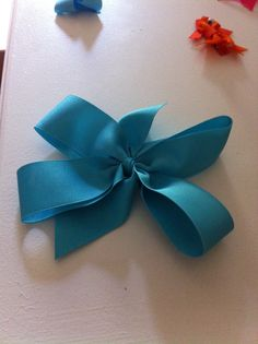 Large pinwheel $4.00 bow made by Traci Torrenti