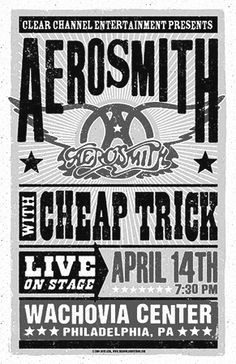 Aerosmith  Saw them 3 times...They just couldn't get it right...