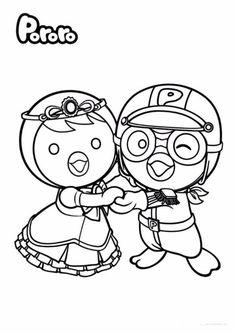 • 뽀로로와 친구들 색칠공부 자료 모음! 소근육을 길러주세요~ : 네이버 블로그 Cartoon Coloring Pages, Coloring Book Pages, Coloring Sheets For Kids, Kids Coloring, Baby Clip Art, Computer Animation, Christmas Colors, Adventure, Anime