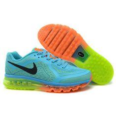 the latest cd025 6ee22 ke Air Max 2014 LG KPU Light Blue Black Orange Mens Shoes Jade Green,  Running