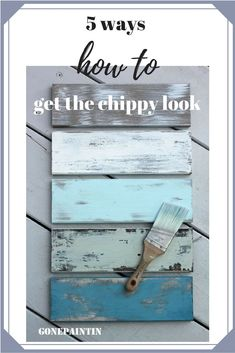 shabby chic mit chippy look- Wie geht das? - Shabby and chippy look! Learn about 5 different ways to get the perfect chippy look! Shabby Chic Kitchen Decor, Shabby Chic Living Room, Shabby Chic Bedrooms, Shabby Chic Mode, Shabby Chic Style, Shabby Chic Zimmer, Chic Bathrooms, Diy Blog, Diy Signs