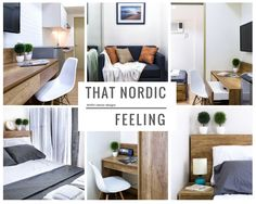 Check out this awesome listing on Airbnb: Nordic Style with balcony & WiFi - Condominiums for Rent in Makati Makati, Nordic Style, Rental Apartments, Condominium, Entryway Bench, Perfect Place, Scandinavian, Interior Design, Bedroom