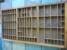 Vintage Printers Drawer/Jewelry Holder/Shadow Box by Happiness2day, $65.00
