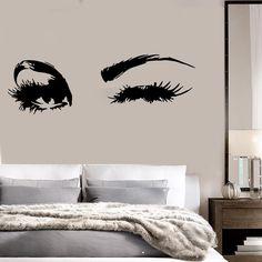 Home Decor Art Vinyl Removable Wall Stickers Audrey Hepburns Eyes - Wall stickershuhushopxaudrey hepburn beautiful eyes removable