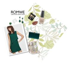"""Green Party"" by christine-latchworth ❤ liked on Polyvore featuring Steve Madden, Vince Camuto, Edie Parker, Gucci and OPI"