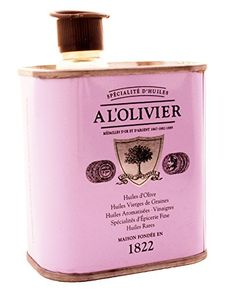 A L'Olivier Lavender Infused Olive Oil Tin, 150ml (5oz) *** See this awesome product  at this Dinner Ingredients board