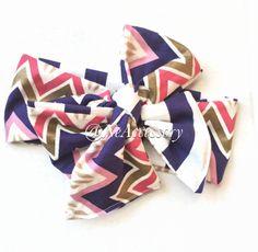 Infant Head wrap girls Head wrap Chevron Headwrap by NeAccessory
