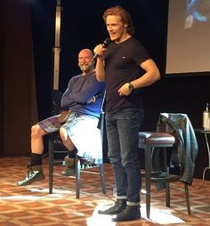 A few more *NEW* pics of Sam & Graham on the #JIBLand convention. ••••••••••••••••••••••••••••••••••• #SamHeughan #GrahamMcTavish #Scot #SexySam #Scotland #Scottish #JAMMF #JamieFraser #Outlander #OutlanderStarz #HotScot #Actors #Sam #Sexy #Sheugs #StudMuffin #Random #KingOfMen #Perfection #nofilter #Ginger #Redhead #Love #GingerGod #JIBLand