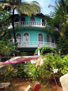 Villa RiverCat- Mandrem, Goa, India.