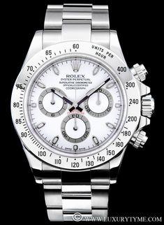 Rolex Daytona White