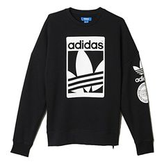 adidas originals street graphic full zip hoodie - mens