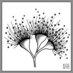 wohlgemuth-me … zendoodle html blaetter_blueten. Zentangle Drawings, Doodles Zentangles, Doodle Drawings, Doodle Patterns, Zentangle Patterns, Zen Doodle, Doodle Art, Tangled Flower, Australian Wildflowers