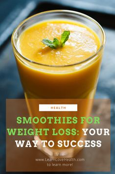 How to use smoothies to lose weight healthily and successfully. #smoothiesforweightloss #smoothies #smoothiesandweightloss #weightloss
