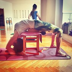 """98 Likes, 6 Comments - @marigutt on Instagram: """"Dwipada viparita dandasana #yoga #iyengaryoga #bksiyengar #iyengarmethod #dwipadaviparitadandasana…"""""""