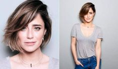 Tendência: Corte assimétrico com franja lateral longa Trendy Hairstyles, Bob Hairstyles, Haircuts, Corte Long Bob, My Hairstyle, Dream Hair, How To Make Hair, Love Hair, Mi Long