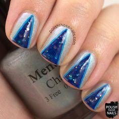Polish Those Nails: Oh Mon Dieu 3 - V-Shape