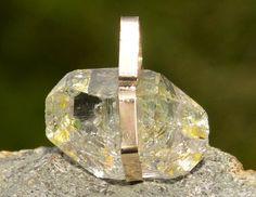 Handmade Golden Enhydro in Gold by KachaStones on Etsy