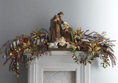 Decorated Mantels: Renaissance Revelry