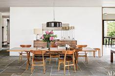 Mid Century Modern Dining Room, Midcentury Modern Dining Table, Mid Century Dining Chairs, Dining Table Chairs, Teak Table, Room Chairs, Home Design, Modern Interior Design, Dining Room Sets