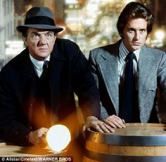 Karl Malden and Michael Douglas in The Streets of San Francisco
