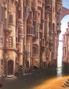 Ellison Wonderland. Jacek Yerka