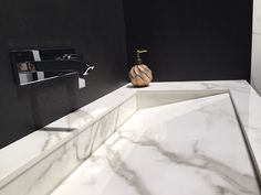 """More from Cersaie... Beautiful designs and perfect finishes, details which make the difference. Visit us to discover the """"Neolith New Products 2016"""" at Bologna (Italy), Hall 19 - Stand B39. #Neolith: Design, Durability, Versatility, Sustainability"""