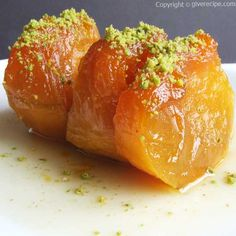 Pumpkin waited with sugar and then boiled in its own juice to make this fantastic dessert!