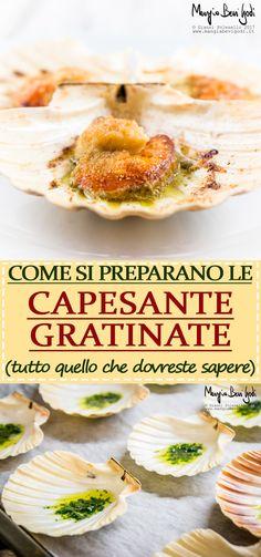 Capesante gratinate: ricetta tradizionale, ricetta di Gianfranco Pascucci e tanti trucchi e curiosità su questo mollusco.