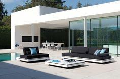 Outdoor sofas: Elements, design Gerd Couckhuyt