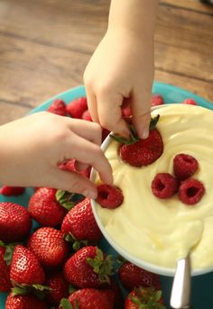 Whipped Lemon Dip #recipe
