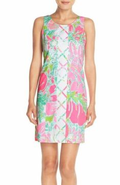 891073295664 Details about Lilly Pulitzer CATHY SHIFT DRESS in Coconut Jungle Southern  Charm $188
