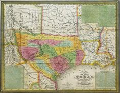 Young - 1839 - New Map of Texas