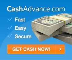 Cash Advance has a very easy cash advance application. You fill out the simple online form, and within seconds you can be approved and waiting for your cash to arrive. And with over 400 lenders in their cash advance network, many companies will be competing to give you the largest cash advance amount with the lowest rate possible.