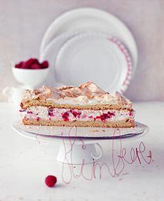 Himbeer-Baiser-Torte - Rezepte - [LIVING AT HOME] (Cake)