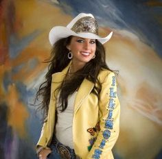 Brooke Owen, Miss Rodeo Illinois, - strangely love this jacket. Cow Girl, Horse Girl, Hot Country Girls, Country Women, Cowgirl And Horse, Cowgirl Style, Cowgirl Bling, Western Style, Sexy Cowgirl Outfits