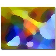 Dappled Light and Shade by Amy Vangsgard Painting Print on Canvas