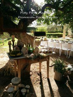 Candy Table vintage para boda